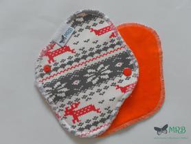 wkładka higieniczna mini norweska czerwona