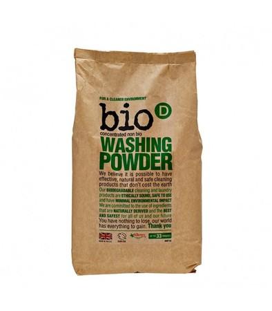 skoncentrowany, hipoalergiczny, niebiologiczny proszek do prania Bio-D 2 kg (1)