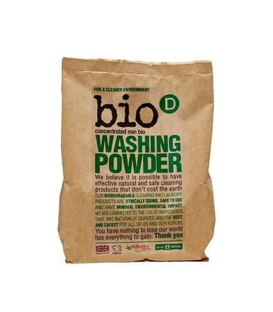 skoncentrowany, hipoalergiczny, niebiologiczny proszek do prania Bio-D 1 kg (1)