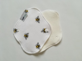 wkładka higieniczna mini białe pszczółki
