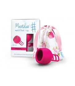 Uniwersalny kubeczek menstruacyjny Merula różowy
