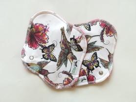 podpaska mini kolibry w hibiskusach