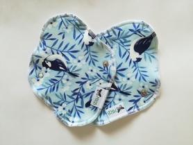 wkładka higieniczna mini niebieski ptaszek z bambusem