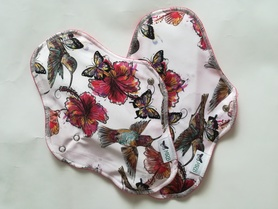 podpaska maxi kolibry w hibiskusach