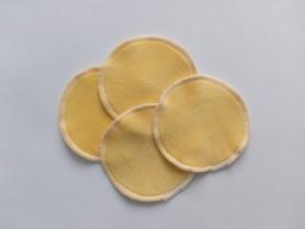 płatki kosmetyczne welurowe bananowe