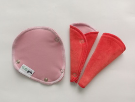 podpaska mini-string różowa z welurem