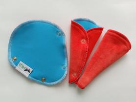 podpaska mini-string turkusowa z welurem